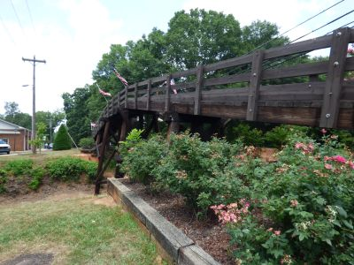 Historic Waxhaw Foot Bridge