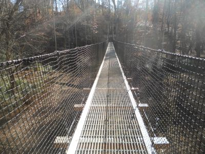 Carolina Thread Trail and Suspension Bridge