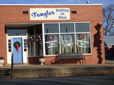 Tangles Knitting On Main